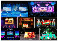 Inside / Outside Rental LED Display , Full Colors Concert Stage LED Screen