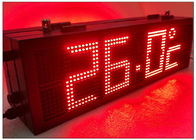 RS485 LED Gas Station Sign with Static State Display Dot Front Side Maintenance