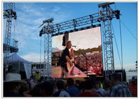 LED Outdoor Screen Hire for Stage , Commercial P10 P16 P8 Rent Video Wall Displays