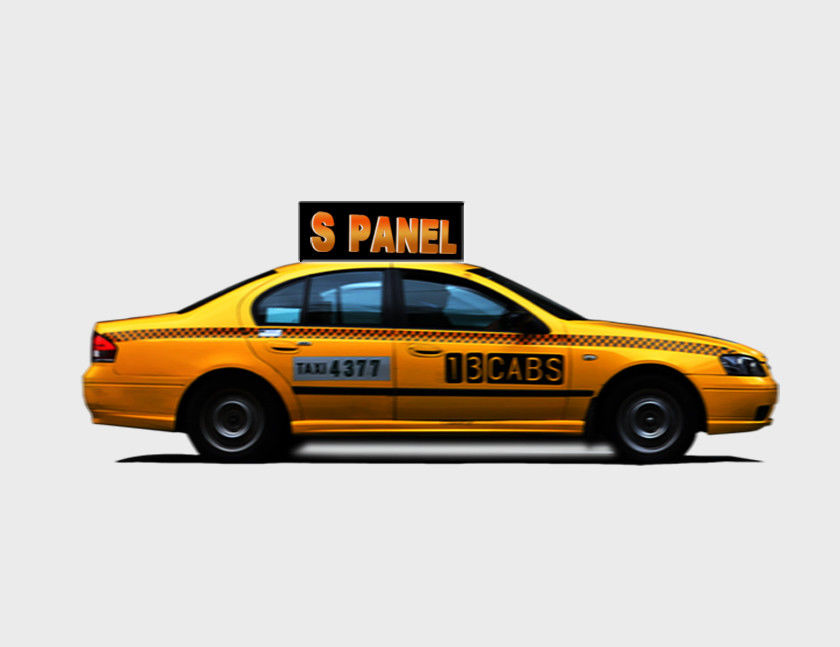 P3 P4 P5 Full - Color Taxi LED Displays 3g / Wifi Wireless Bus / Car / Mobile Truck Led Advertising